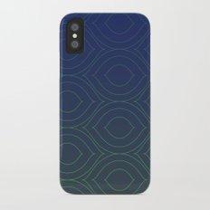 The Peacock iPhone X Slim Case