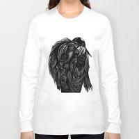 birdman Long Sleeve T-shirts featuring Birdman by Hartless