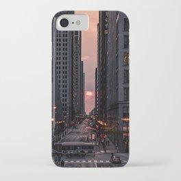 Warm Chicago Henge iPhone Case