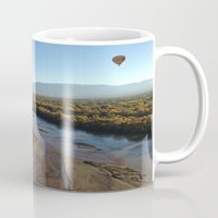 ariana grande Mugs featuring Rio Grande by Isaak_Rodriguez