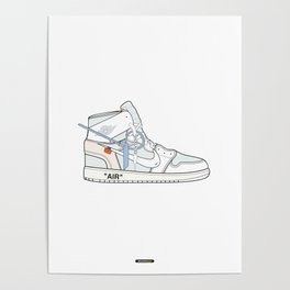 Jordan x Off-White II Poster