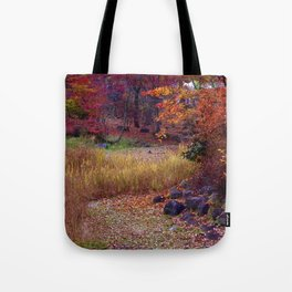 Fall Foliage in Nikko, Japan Tote Bag