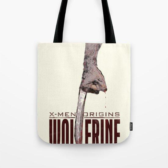 X-Men Origins: Wolverine Tote Bag