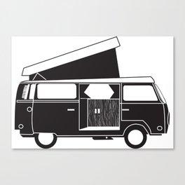 VW bus Canvas Print