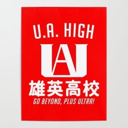 UA High Poster