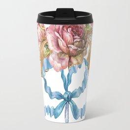Collection of Baroque. Flower Arrangement 3 Travel Mug