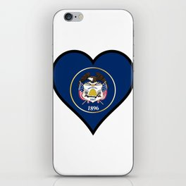 Love Utah iPhone Skin