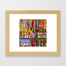 Combination Platter #18 Framed Art Print