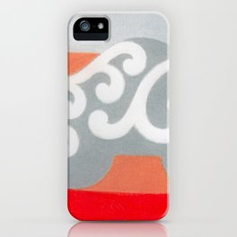 Riding like the King iPhone Case