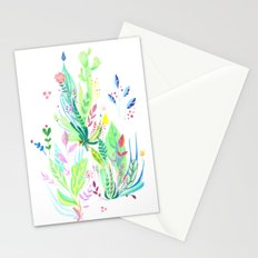 Plants In My Garden Stationery Cards