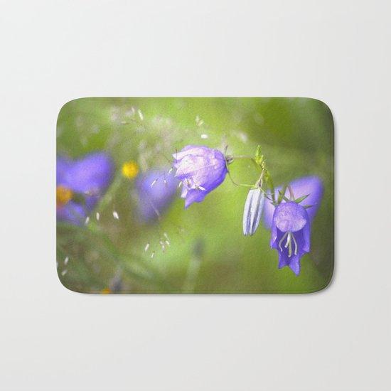Bluebells in The Meadow  Bath Mat