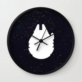 Phonetic Falcon Wall Clock