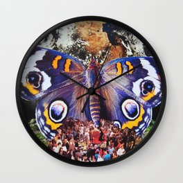 This is How we Walk on the Moon Wall Clock