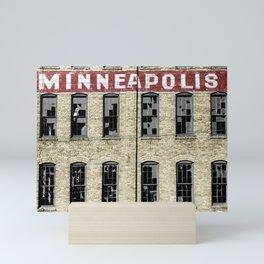Minneapolis Mini Art Print