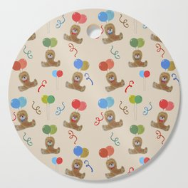 Teddy and Balloons Cutting Board