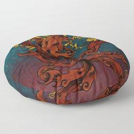 Kurama and Seal Floor Pillow