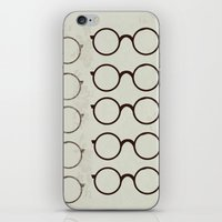 glasses iPhone & iPod Skins featuring (Glasses) by Mr and Mrs Quirynen