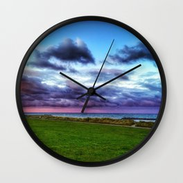 Last colours of the day Wall Clock