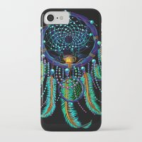 dreamcatcher iPhone & iPod Cases featuring DreamCatcher by Emberland