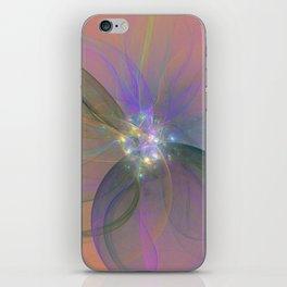 Fairy Blossom Fractal iPhone Skin