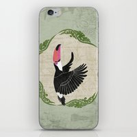 toucan iPhone & iPod Skins featuring Toucan by Aquamarine Studio