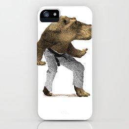 Dangerous Hippo iPhone Case