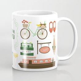 Amsterdam, I Love You Coffee Mug