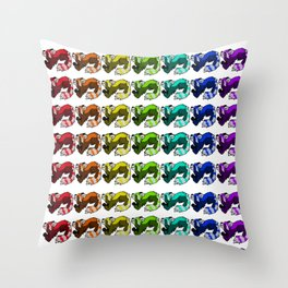 Panda Spectrum Throw Pillow