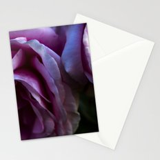 Twin rose buds Stationery Cards