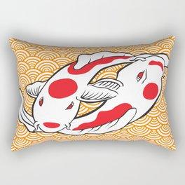 Carpas Koi Rectangular Pillow