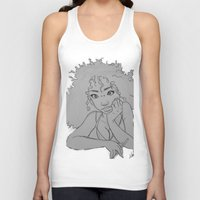 artsy Tank Tops featuring Artsy Girl by radaaban