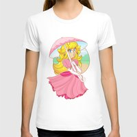 princess peach T-shirts featuring Princess Peach by zamii070