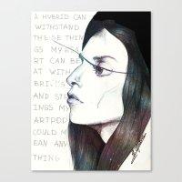 artpop Canvas Prints featuring ARTPOP by Dafni