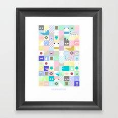 For Japan with love Framed Art Print