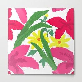 Floral Chorus1  Metal Print