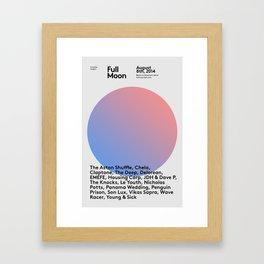 FullMoon Festival - Limited Edition Artwork Framed Art Print