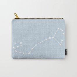 Scorpio Zodiac Constellation - Pastel Blue Carry-All Pouch