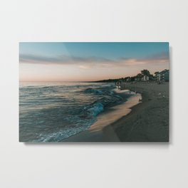 Sunset in South Haven Metal Print