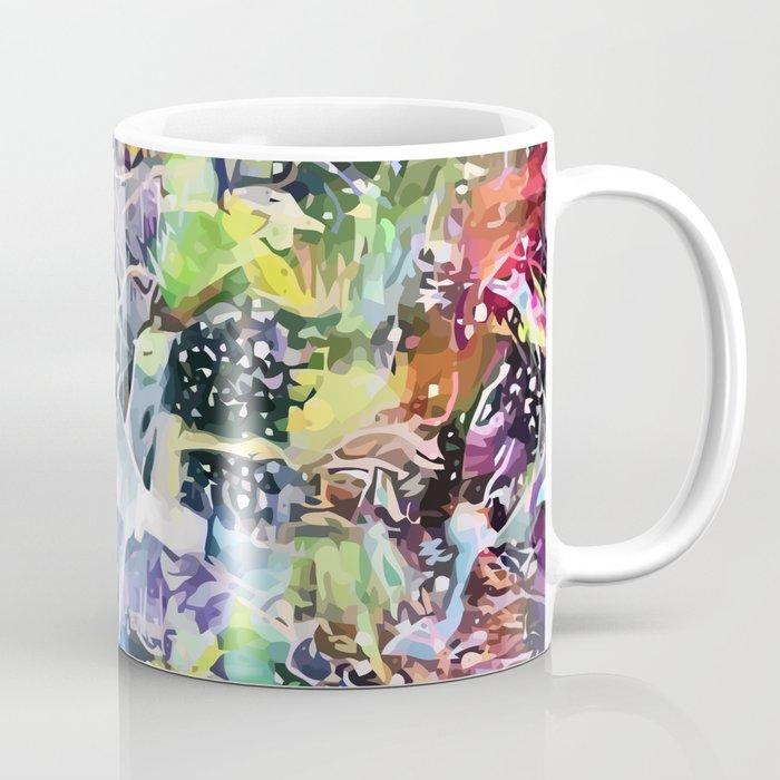 Crow's Paintbrush Coffee Mug