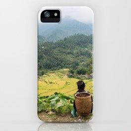 Sa Pa Landscapes II - Vietnam iPhone Case