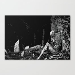 Defeated Canvas Print