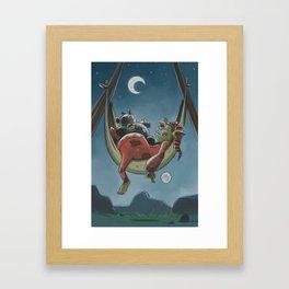 Goblins Drool, Fairies Rule! - Nappy Hour Framed Art Print
