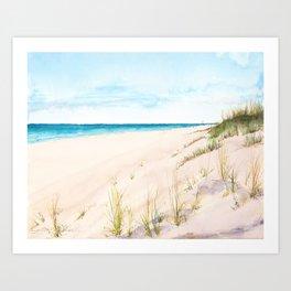 Dunes #1 Art Print