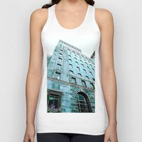 montreal Tank Tops featuring Montreal 8278 by Korok Studios