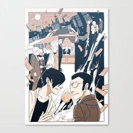 Page Forty-Nine (Print) Canvas Print