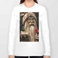 depression Long Sleeve T-shirts featuring Tis the seasonal depression...wah, wah, wah, wah, boo hoo! by IowaShots