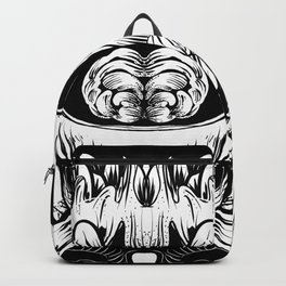 Skull and Brain Backpack