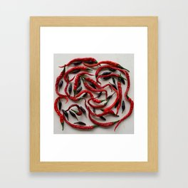 IT'S A SPICY KIND OF DAY! Framed Art Print