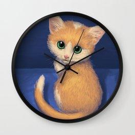 Little Kitty Wall Clock