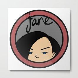Jane Lane Metal Print